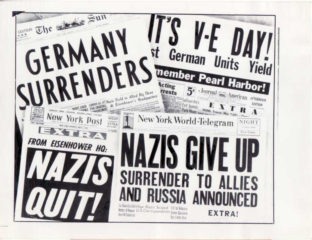 70th anniversary of victory in europe (ve) day – e-storia
