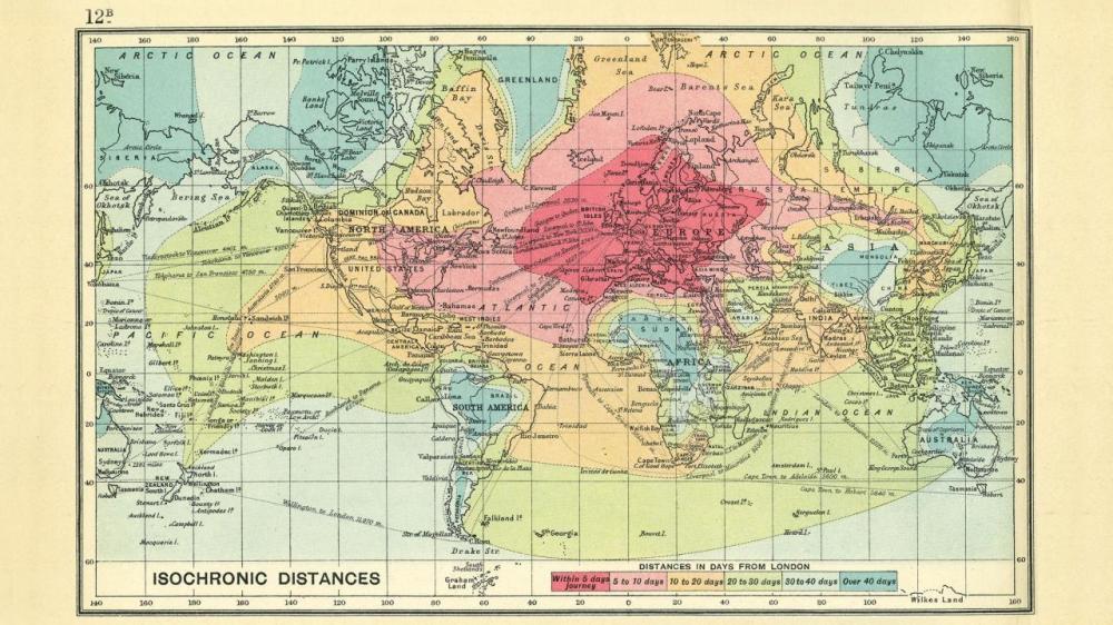"Source: Bartholomew, J. G., ""An Atlas of Economic Geography."" London: OUP, 1914."