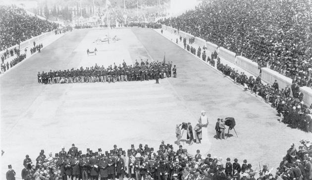 Opening Ceremonies - Athens, 1896